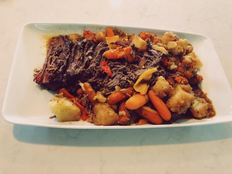 Umami pot roast