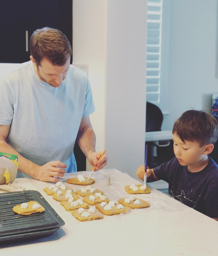 Baking projects together